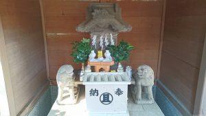 上目黒氷川神社(旧大橋氷川神社) 富士浅間神社 石祠