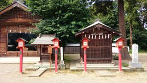 鷲宮神社 八坂神社・神輿殿