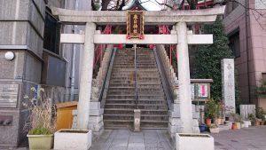 三田春日神社 鳥居