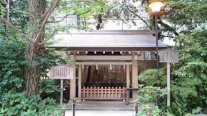 第六天榊神社 手水舎