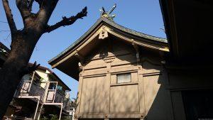 上目黒氷川神社 本殿