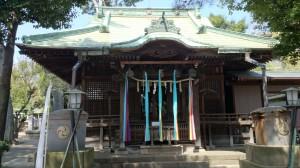 駒留八幡神社 拝殿