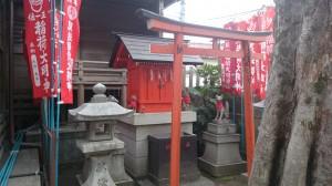 本郷櫻木神社 見送稲荷神社