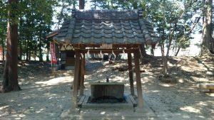 中山神社 手水舎