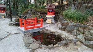 十二社熊野神社 弁財天社