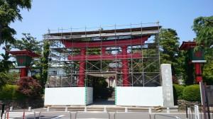 東伏見稲荷神社 鳥居