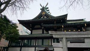 鳥越神社 本殿