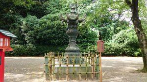 鷲宮神社 金灯籠(文政12年)