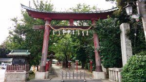 鷲宮神社 鳥居