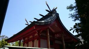 東伏見稲荷神社 本殿