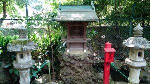 赤堤六所神社 厳島神社 社殿