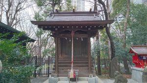 十二社熊野神社 大鳥三社