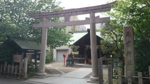蔵前神社 鳥居