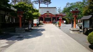 東伏見稲荷神社 境内