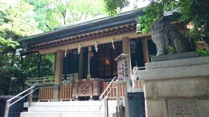 第六天榊神社 拝殿