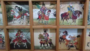 矢先稲荷神社 拝殿天井絵馬図 (4)