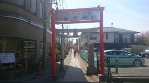 久富稲荷神社 参道