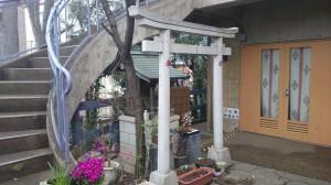 元神明宮 白滝稲荷神社跡