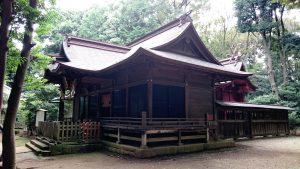 氷川女體神社 拝殿