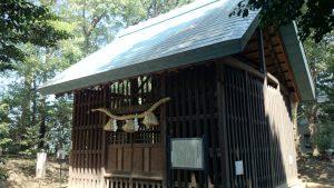 中山神社 旧本殿