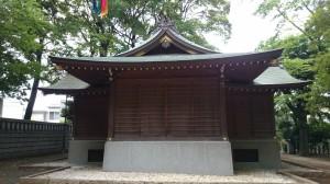 碑文谷八幡宮 神楽殿