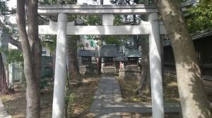 荏原神社 境内社鳥居
