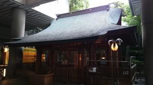 雉子神社 拝殿