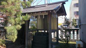 亀戸香取神社 井戸