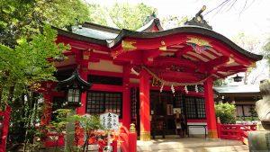赤堤六所神社 拝殿