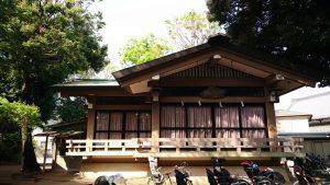 赤堤六所神社 神楽殿