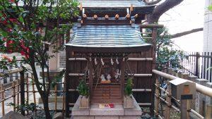 三田春日神社 赤羽稲荷神社 社殿