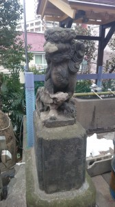元神明宮 狛犬 (2)