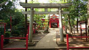 赤堤六所神社 二の鳥居