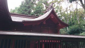 氷川女體神社 本殿