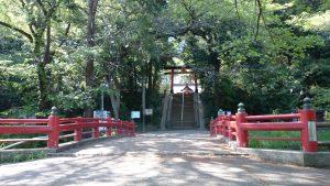 氷川女體神社 氷川女體橋