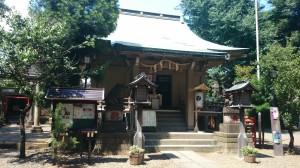 上目黒氷川神社(大橋氷川神社) 社殿
