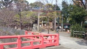 荏原神社 鳥居