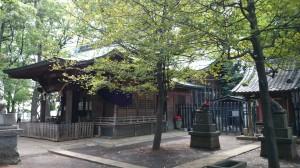 碑文谷八幡宮 社殿