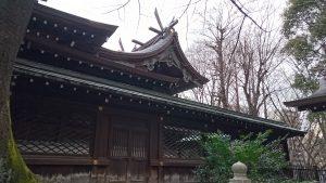 十二社熊野神社 本殿