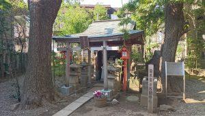 上目黒氷川神社(旧大橋氷川神社) 富士浅間神社
