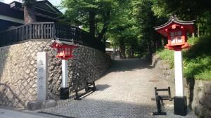 十二社熊野神社 参道