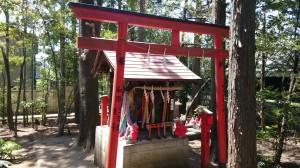 東伏見稲荷神社 奥の白狐社