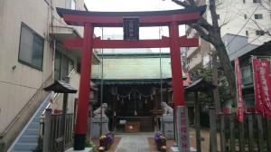 三河稲荷神社 鳥居