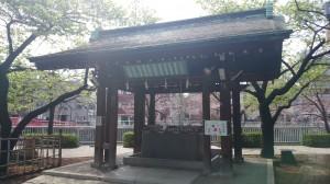 荏原神社 手水舎