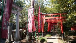 東伏見稲荷神社 お塚入口