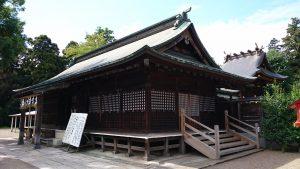 鷲宮神社 拝殿