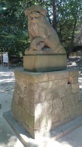 中山神社 狛犬 (2)