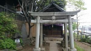 諏方神社 末廣稲荷神社・銭降稲荷神社