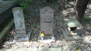 八雲氷川神社 石像