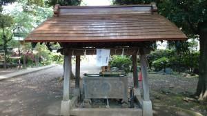 八雲氷川神社 手水舎